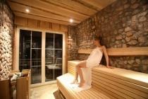 Sauna im Wellnesshotel