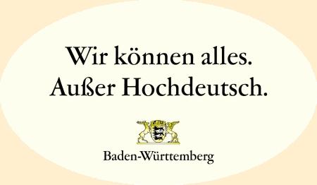 Baden-Württemberg Slogan